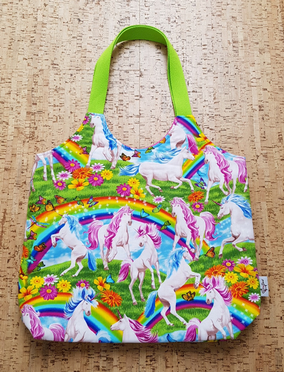 Shopper / Unicorns & Rainbows